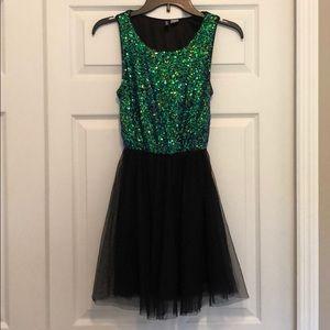 H&M size 4 sequins party dress